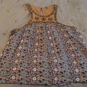 United Colors Of Benetton Embellished Tank